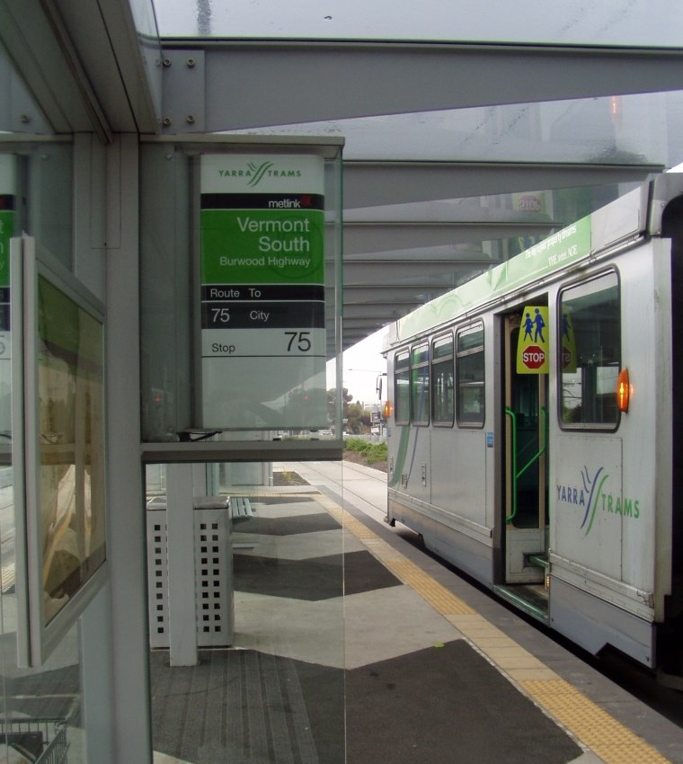 Vermont Sth tram
