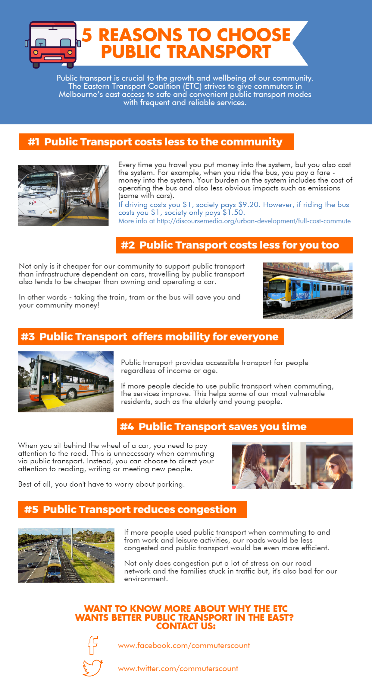 5 reasons to choose public transport